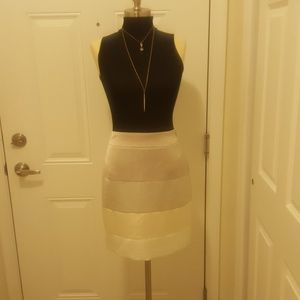 Club Monaco beige/Taupe/Gray/White pencil skirt
